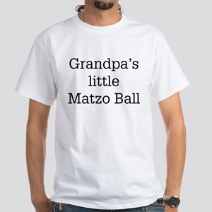 Grandpa's Matzo Ball White T-Shirt