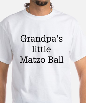 Grandpa's Matzo Ball White T-Shirt