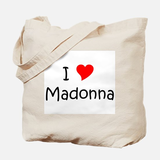 Cute Madonna Tote Bag