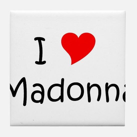 Funny Madonnas Tile Coaster