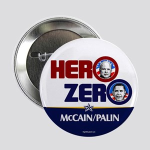"""Hero Zero - Anti Obama 2.25"""" Button (10 pack)"""