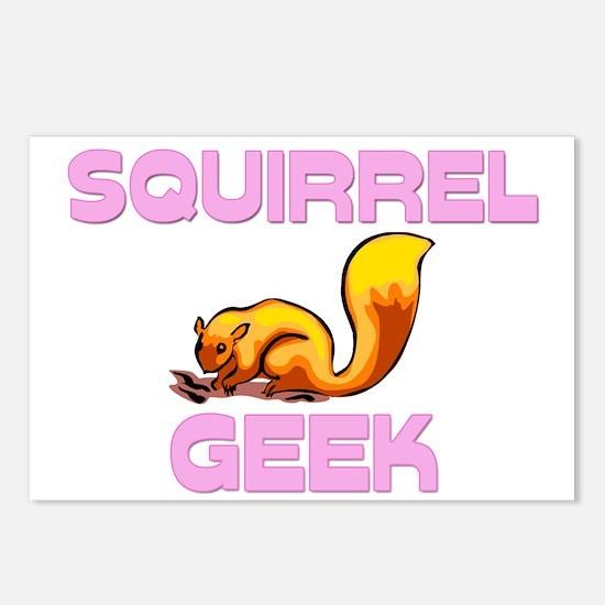 Squirrel Geek Postcards (Package of 8)