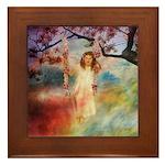 Angel #202 : Framed Tile