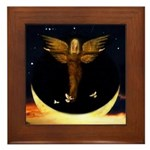Angel #188 : Framed Tile