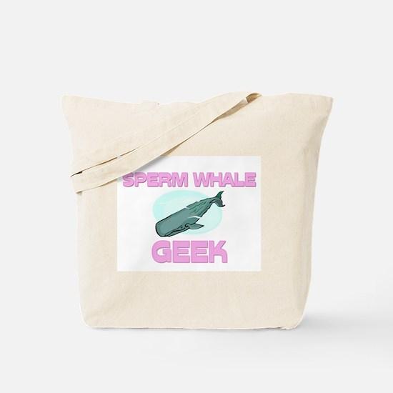 Sperm Whale Geek Tote Bag