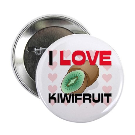 "I Love Kiwifruit 2.25"" Button"