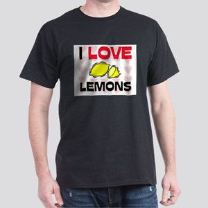 I Love Lemons Dark T-Shirt