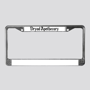 Dryad Apothecary License Plate Frame