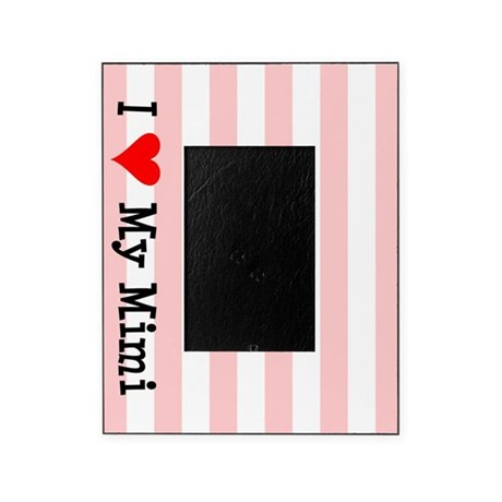 Love My Mimi Pink Picture Frame By Grandparentnames