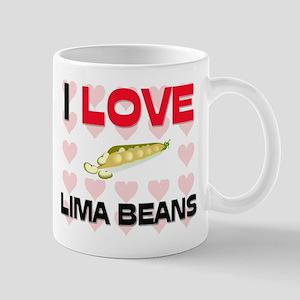 I Love Lima Beans Mug