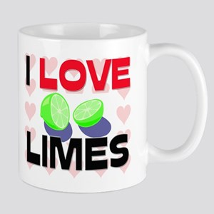 I Love Limes Mug