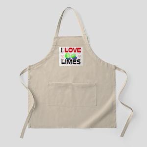 I Love Limes BBQ Apron