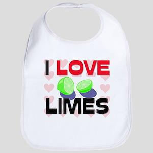 I Love Limes Bib