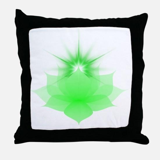 Cool Anahata Throw Pillow