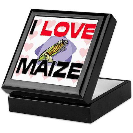 I Love Maize Keepsake Box
