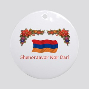 armenian christmas armenia shenoraavor 2 ornament round - When Is Armenian Christmas