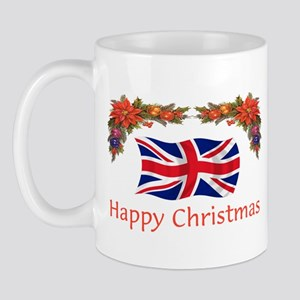 British Happy Christmas Mug