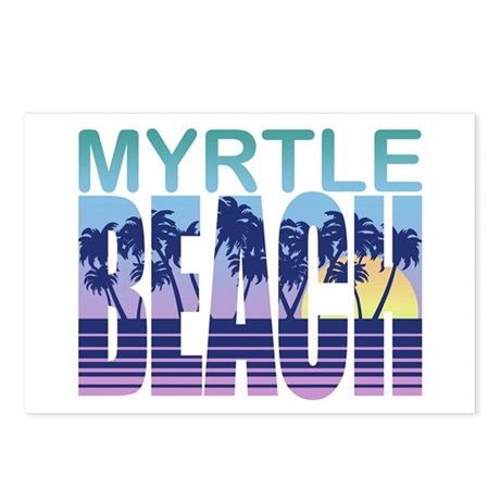 Myrtle Beach Postcards Package Of 8
