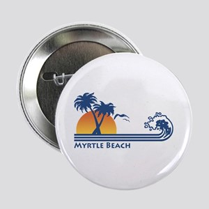 "Myrtle Beach 2.25"" Button"