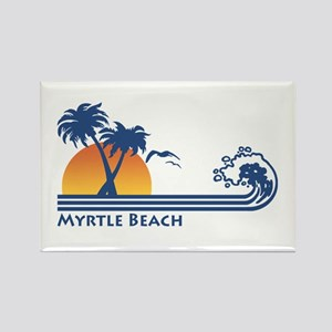 Myrtle Beach Rectangle Magnet