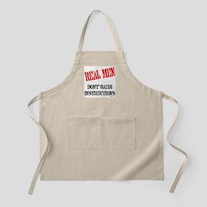 REAL MEN BBQ Apron