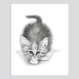 Kitty cat Small Poster