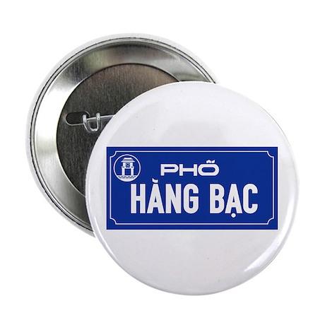 """Hang Bac Street, Vietnam 2.25"""" Button"""