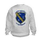 USS BADGER Kids Sweatshirt