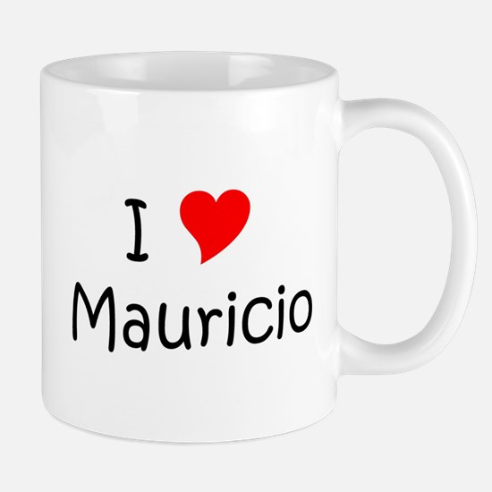 Cute I love mauricio Mug