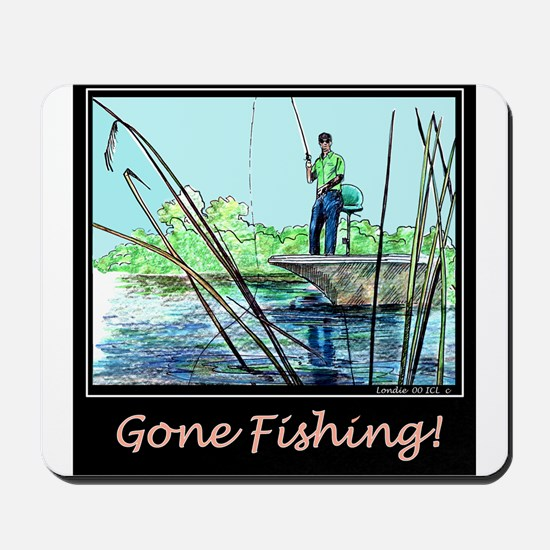 Gone Fishing 2 Mousepad