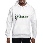 I Love My Engineer Hooded Sweatshirt