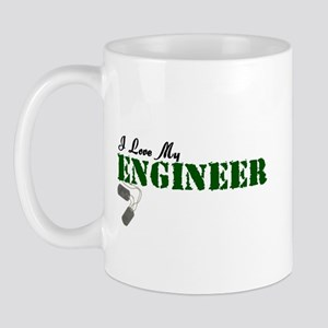 I Love My Engineer Mug