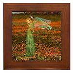 Angel #119 : Framed Tile