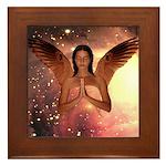 Angel #185 : Framed Tile