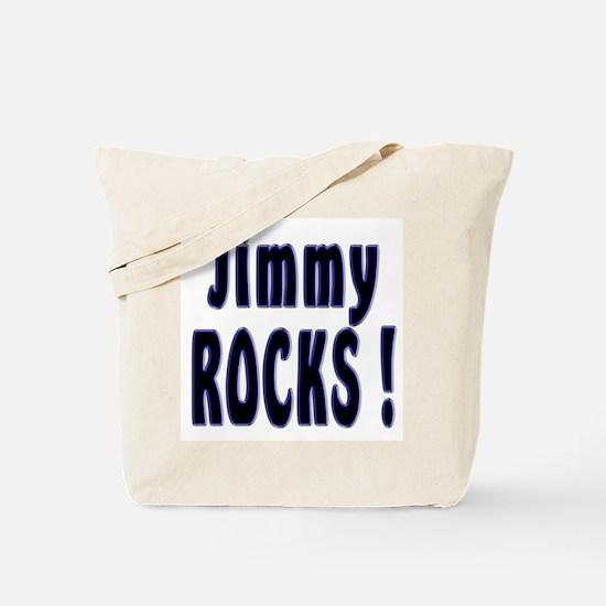 Jimmy Rocks ! Tote Bag