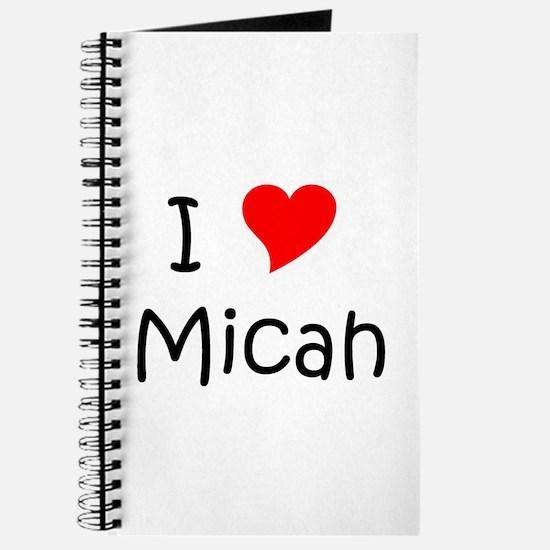 Funny Micah Journal