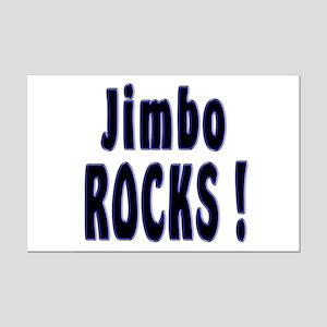 Jimbo Rocks ! Mini Poster Print