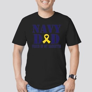 Navy Dad Proud Of Daughter T-Shirt