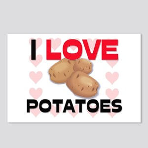 I Love Potatoes Postcards (Package of 8)