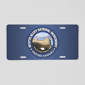 Scotts Bluff National Monument Aluminum License Pl