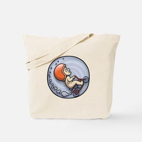 Barrel Ride Tote Bag