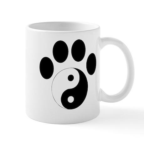 Ying Yang Paw Mug