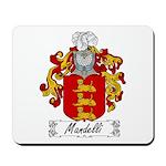 Mandelli Family Crest Mousepad
