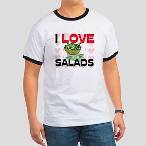 I Love Salads Ringer T