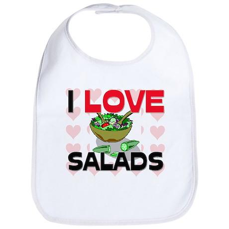 I Love Salads Bib