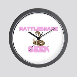 Rattlesnake Geek Wall Clock