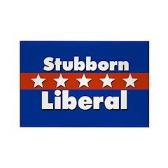 100 Stubborn Liberal Fridge Magnets