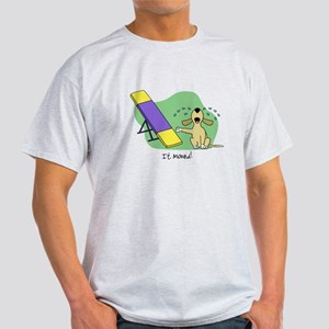 See-Saw Agility Dog Light TShirt
