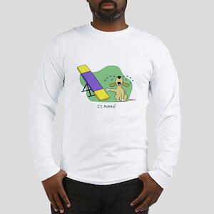 See-Saw Agility Dog Long Sleeve T-Shirt