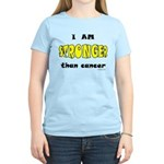 Stronger Than Cancer (yellow) Women's Light T-Shir